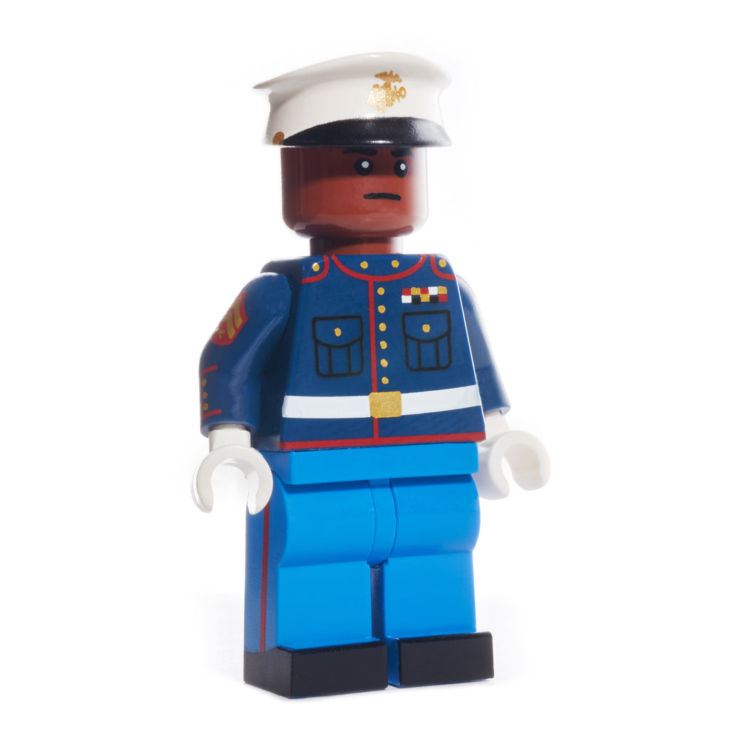 USMC Dress Blue Uniform - Reddish Brown