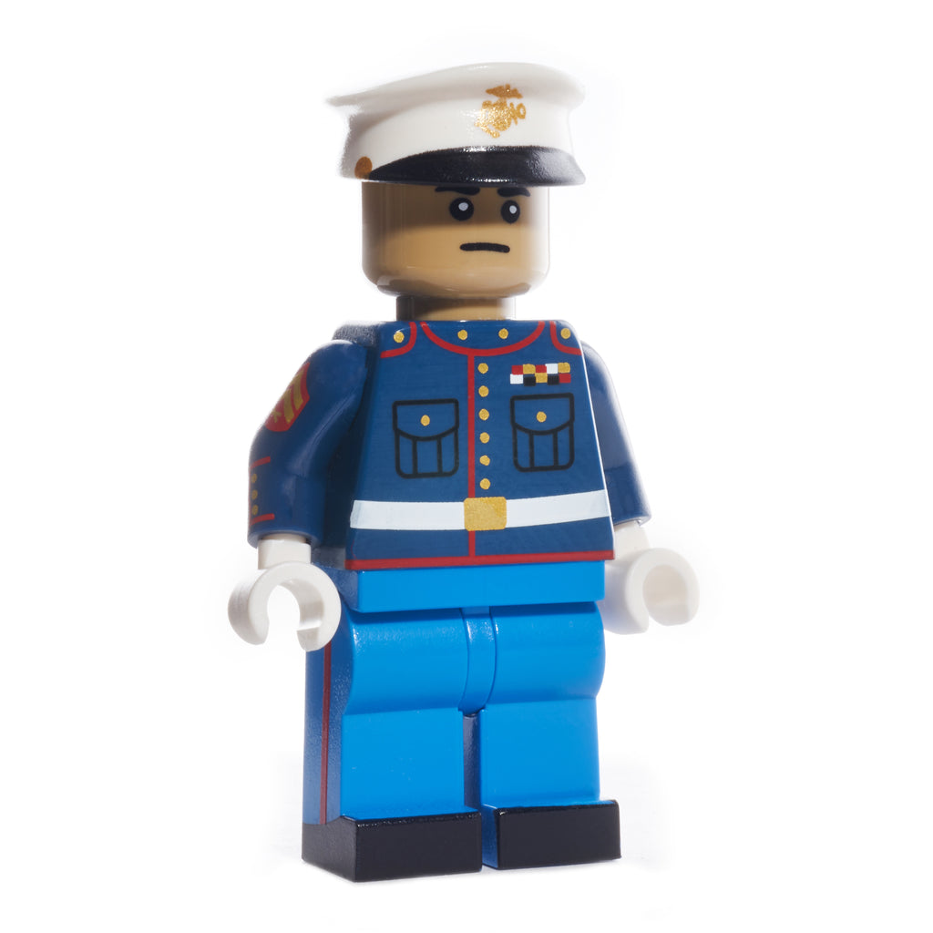 USMC Dress Blue Uniform - Dark Tan