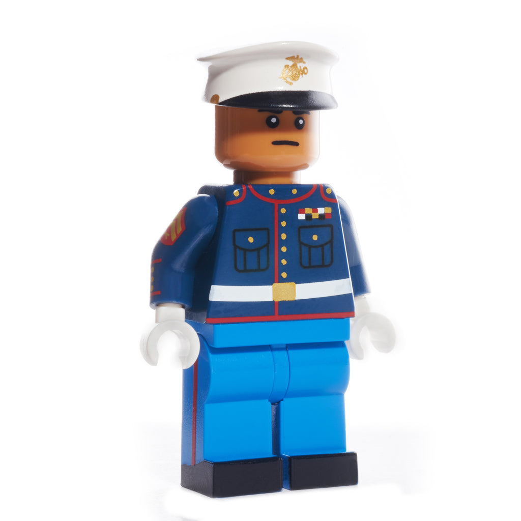 USMC Dress Blue Uniform - Medium Dark Flesh