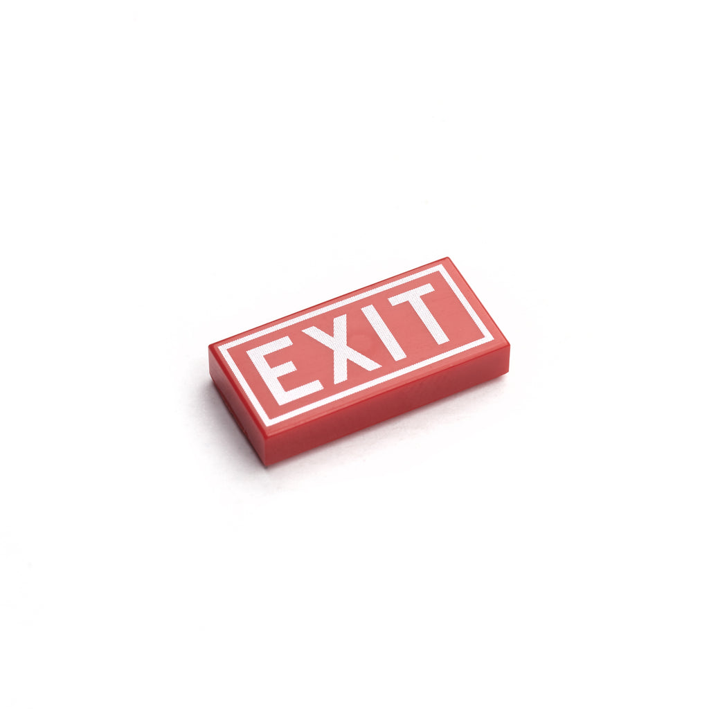Exit Tile - Red