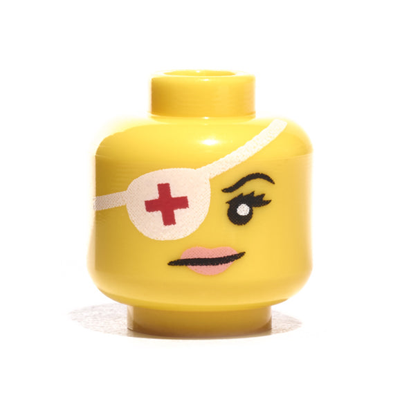 Female Eyepatch Head - Yellow