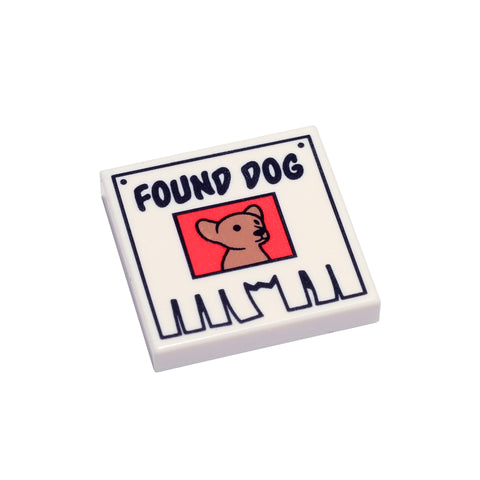 Found Dog Tile