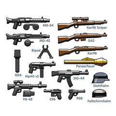BrickArms German Weapons Pack v2
