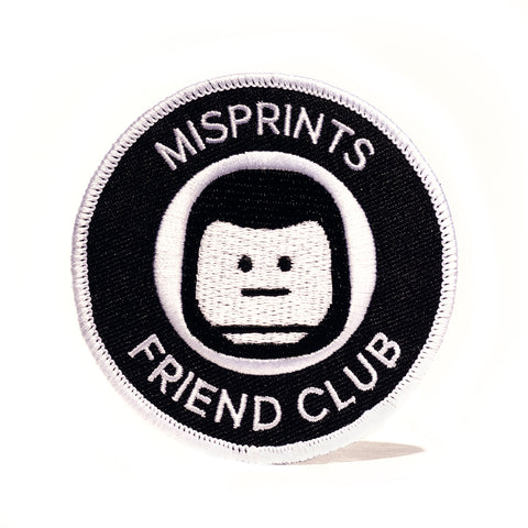 Misprints Friend's Club Patch