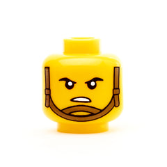Modern Chin Strap Head - Yellow