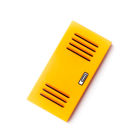 Locker Tile - Orange
