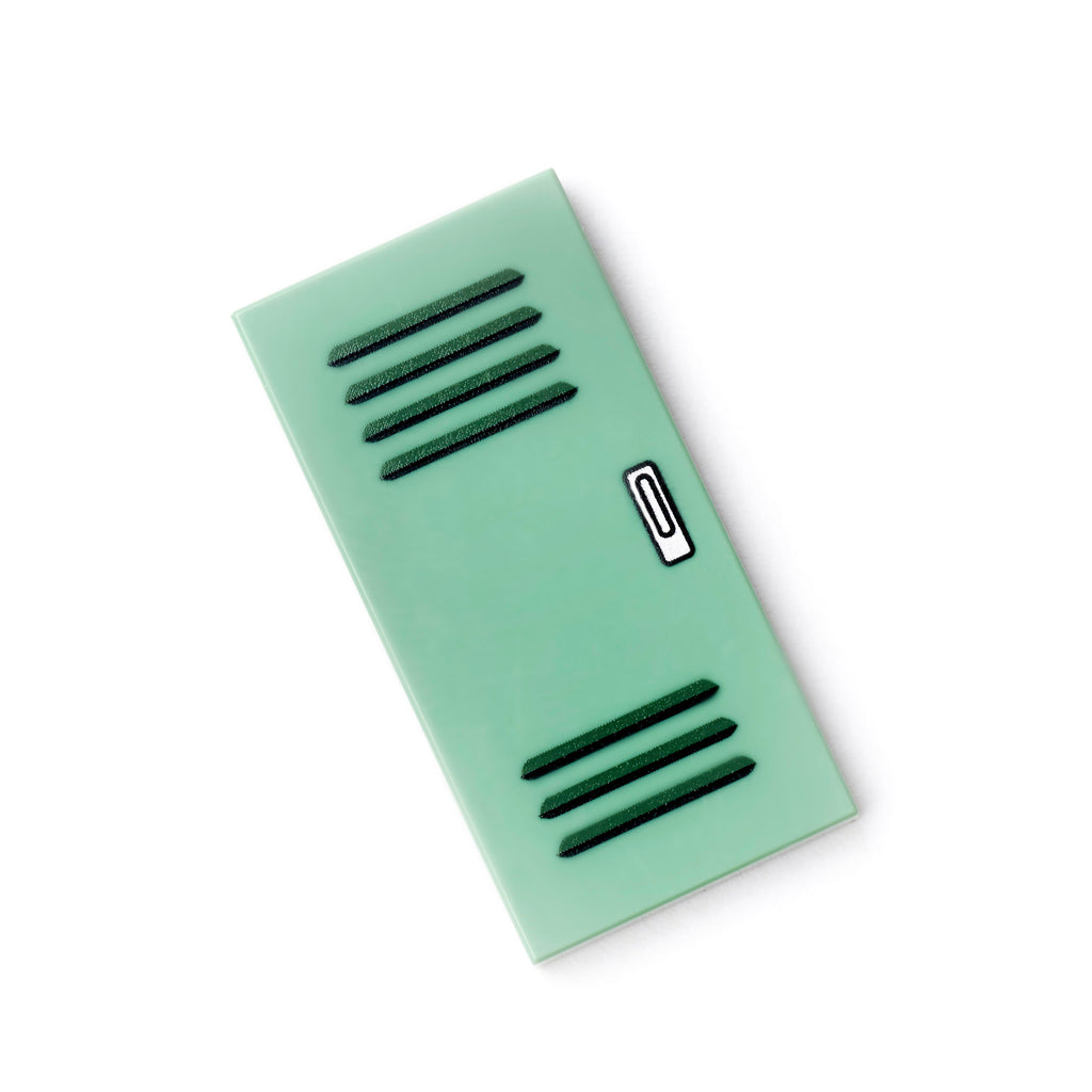 Locker Tile - Sand Green