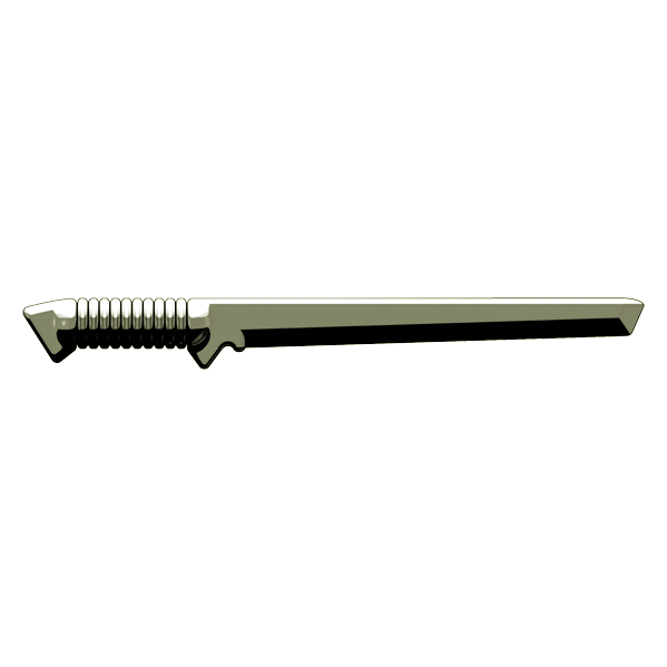 BrickArms Tactical Sword - Titanium