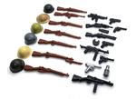 BrickArms Weapons Pack and Helmets from WWII Layout