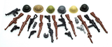 BrickArms Weapons Pack and Helmets from WWII Variety Pack