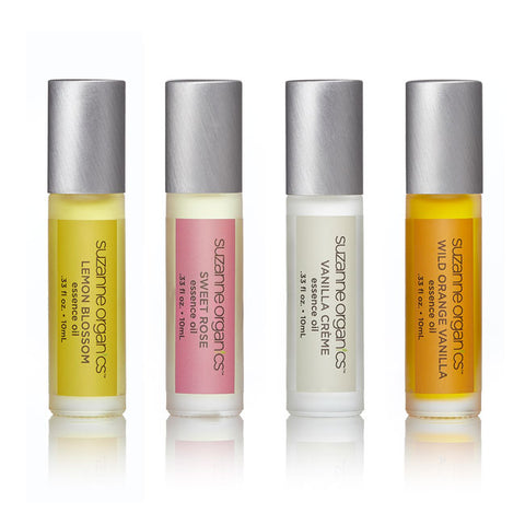 Skincare - SUZANNE Organics Essence Oil Roller Set of 4