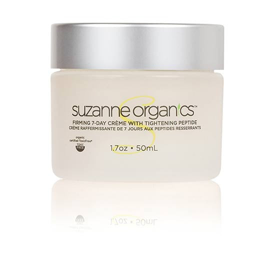 skincare - SUZANNE Organics Firming 7‑Day Crème with Tightening Peptide Formula