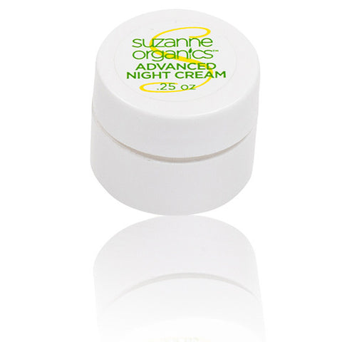 SUZANNE Organics Advanced Night Cream - Travel Size (.25 oz.)