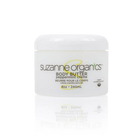 skincare - SUZANNE Organics Peppermint Creme Body Butter