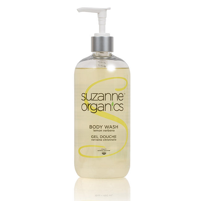 SUZANNE Organics Lemon Verbena Body Wash Salon Size (16 oz)