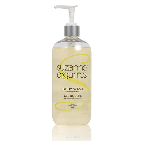 SUZANNE Organics Lemon Verbena Body Wash (8oz)