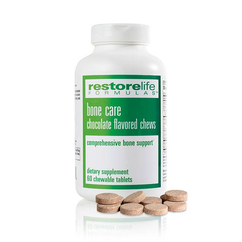 RestoreLife Formulas Bone Care Chocolate Flavor Chews