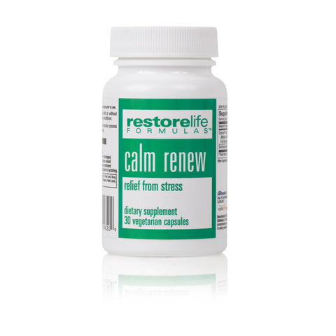 RestoreLife Formulas Natural Calm Renew Supplement