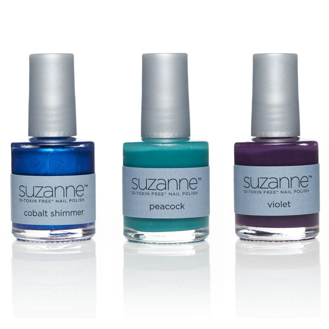 SUZANNE 10‐Toxin Free Nail Polish Fall 3‐Piece Trio