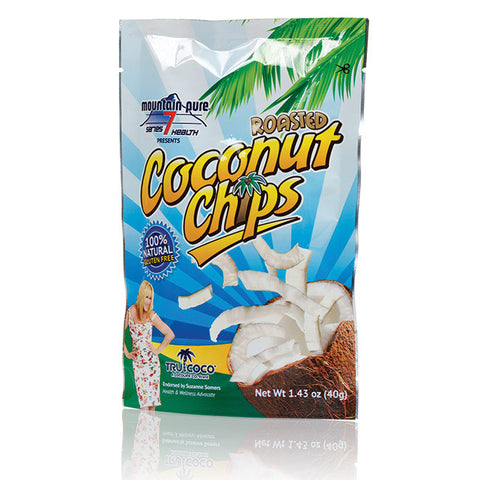 Suzanne Somers' TruCoco Roasted Coconut Chips 10-Pack