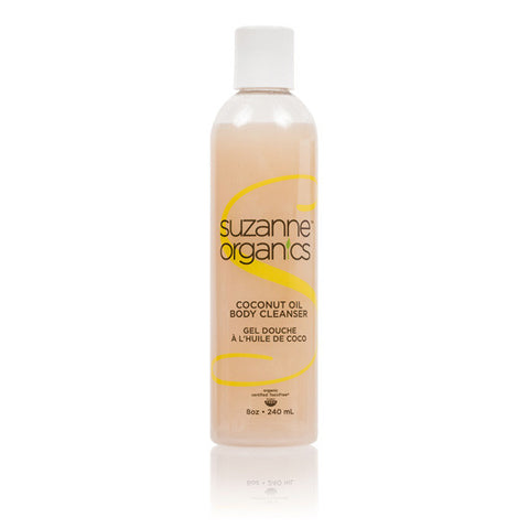 SUZANNE Organics Coconut Oil Body Cleanser (8 oz)