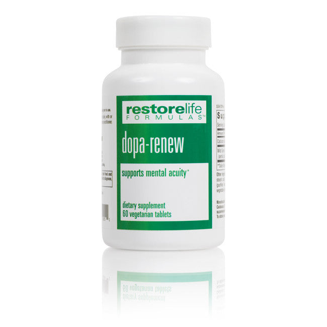 RestoreLife Formulas Dopa Renew Dietary Supplement