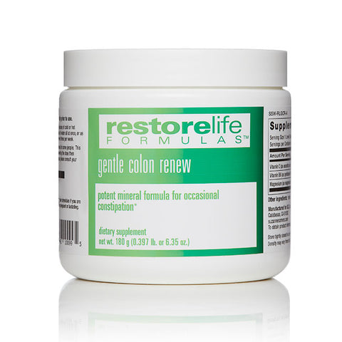 RestoreLife Formulas Gentle Colon Renew Supplement