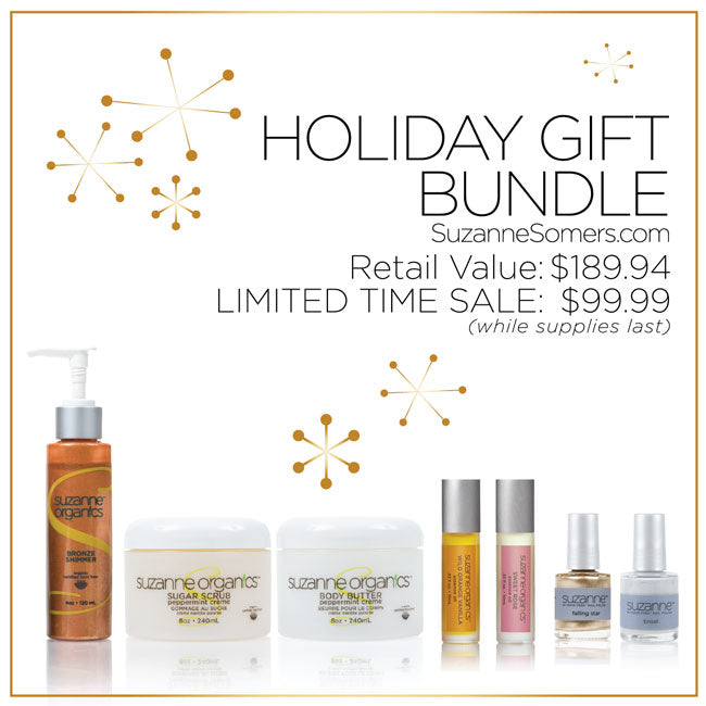SUZANNE Organics Women's Holiday Gift Bundle