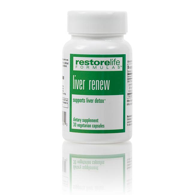 RestoreLife Formulas Liver Renew Dietary Supplement