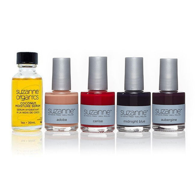 SUZANNE 10‐Toxin Free Nail Polish New Winter Collection 5‐Piece Set
