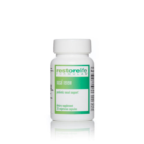 RestoreLife Formulas Nasal Renew Supplement