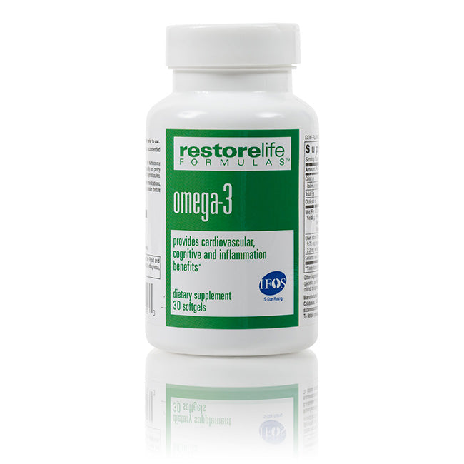 RestoreLife Formulas Omega-3 Supplement
