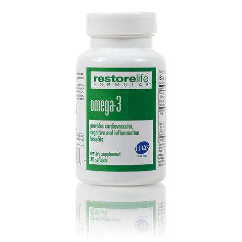 RestoreLife Formulas Omega-3 Dietary Supplement