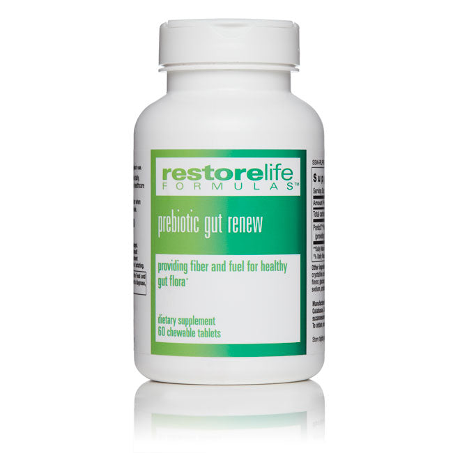 RestoreLife Formulas Prebiotic Gut Renew Supplement