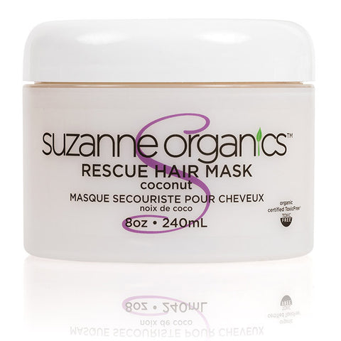 haircare - SUZANNE Organics Rescue Hair Mask Coconut