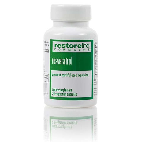 RestoreLife Formulas Resveratrol Renew Supplement