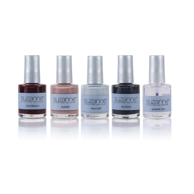 SUZANNE 10‐Toxin Free Nail Polish Fall Collection 5‐Piece Set