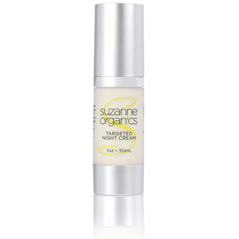 skincare - SUZANNE Organics Targeted Night Cream