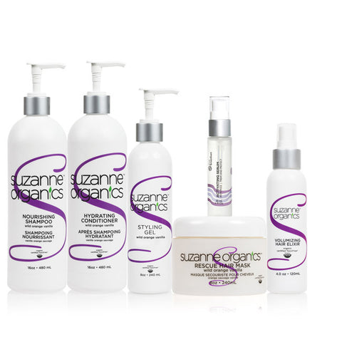 SUZANNE Organics Ultimate Essentials Haircare Set