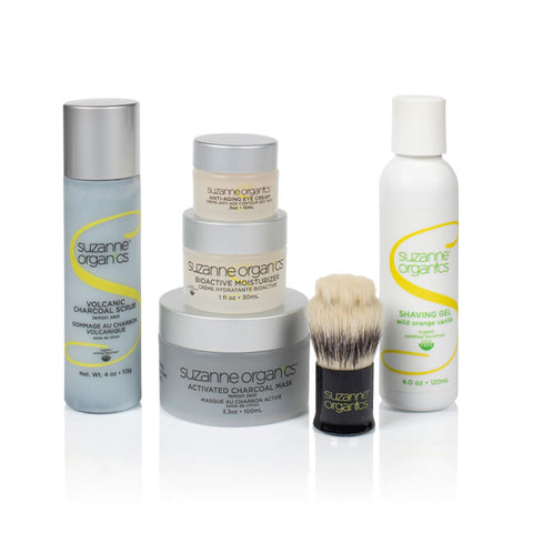 SUZANNE Organics 7-Piece Ultimate Mens' Skincare Kit