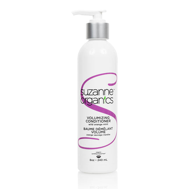 SUZANNE Organics Volumizing Coconut Sweet Almond or Wild Orange Peppermint Conditioner