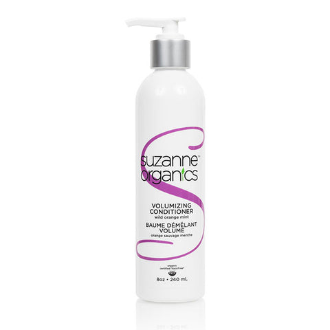 SUZANNE Organics Coconut Sweet Almond or Wild Orange Peppermint Volumizing Conditioner