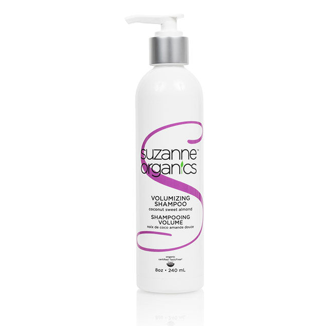 SUZANNE Organics Volumizing Shampoo - Coconut Sweet Almond or Wild Orange Peppermint