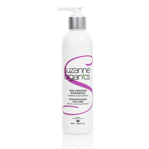 SUZANNE Organics Coconut Sweet Almond or Wild Orange Peppermint Volumizing Shampoo (8 oz)