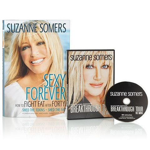 Books - Sexy Forever: How To Fight Fat After Forty – Book Plus Bonus DVD