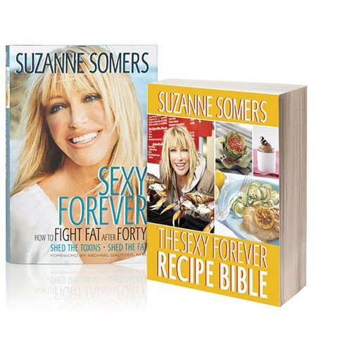 Sexy Forever & Sexy Forever Recipe Bible Book Duo