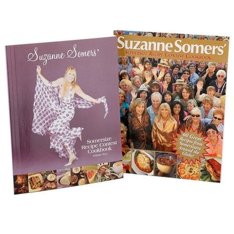 Books - Somersize Recipe Contest Cookbooks Volumes I And II – Combo Pack