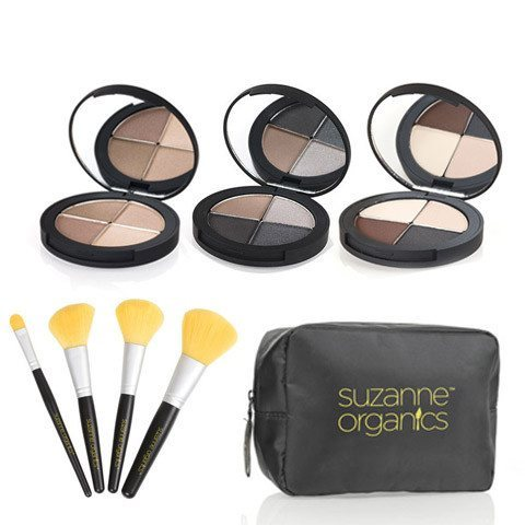 Cosmetics - SUZANNE Organics Eye Shadow 8 Piece Bundle