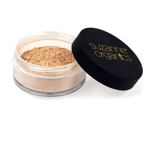 Cosmetics - SUZANNE Organics Matte Finish Loose Powder - Honey