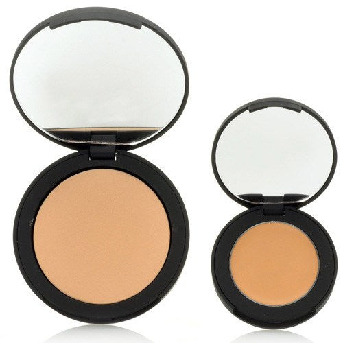 SUZANNE Organics Sheer Pressed Powder and Perfect Finish Concealer Duo